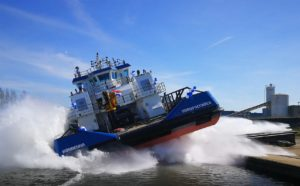 "Launching of the ""Сonwenna"" Pusher Tug!"